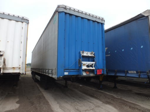 KRONE SDP Curtain trailer